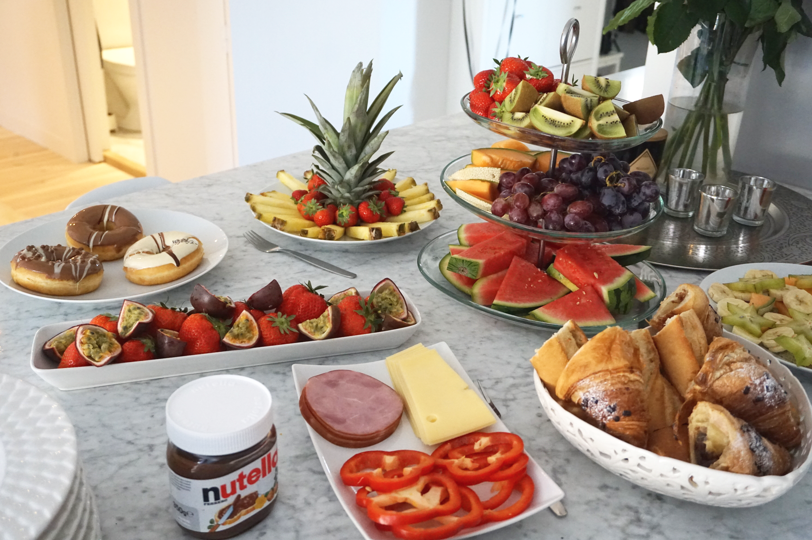 Brunch at my place