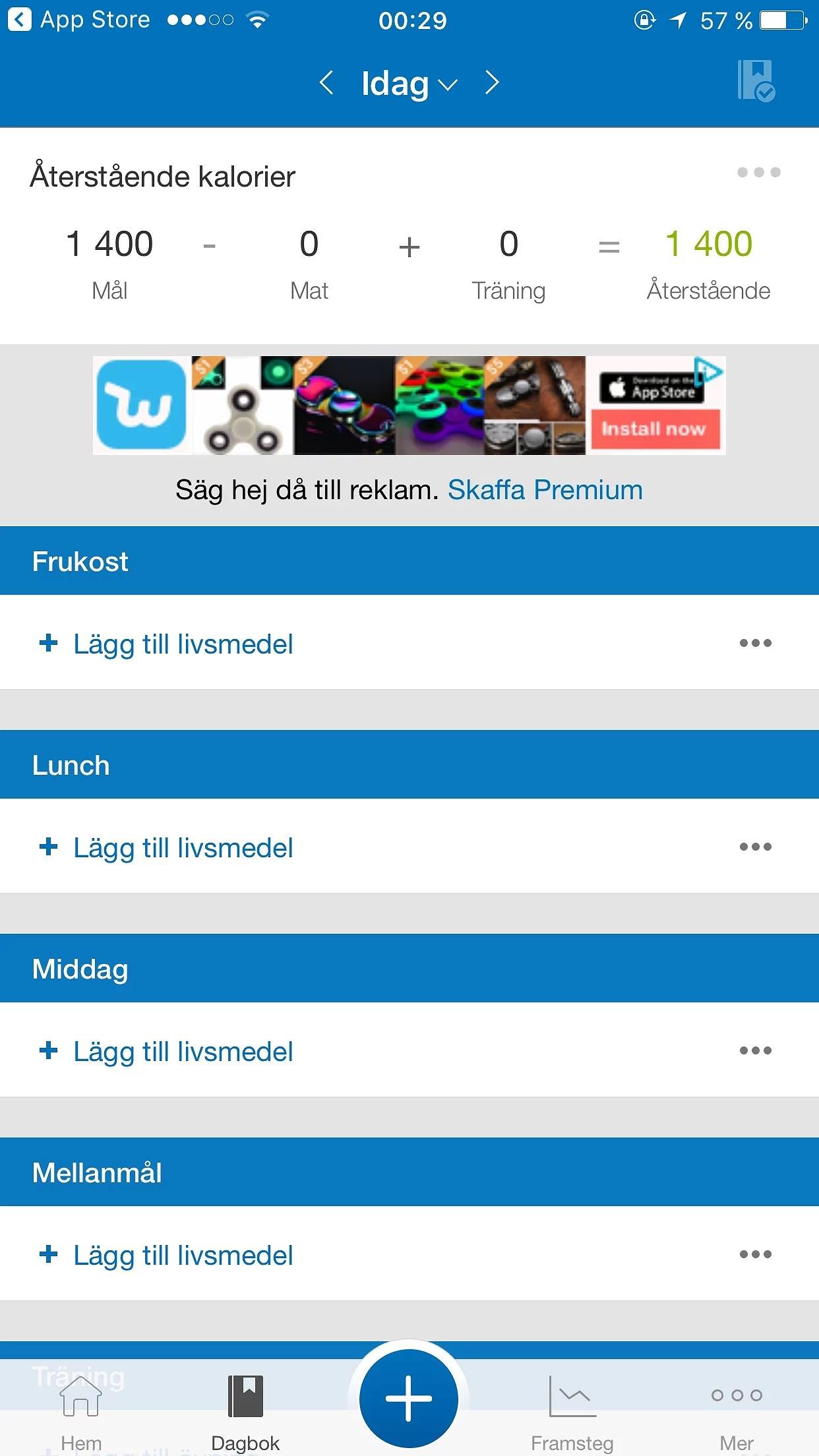 app för viktnedgång