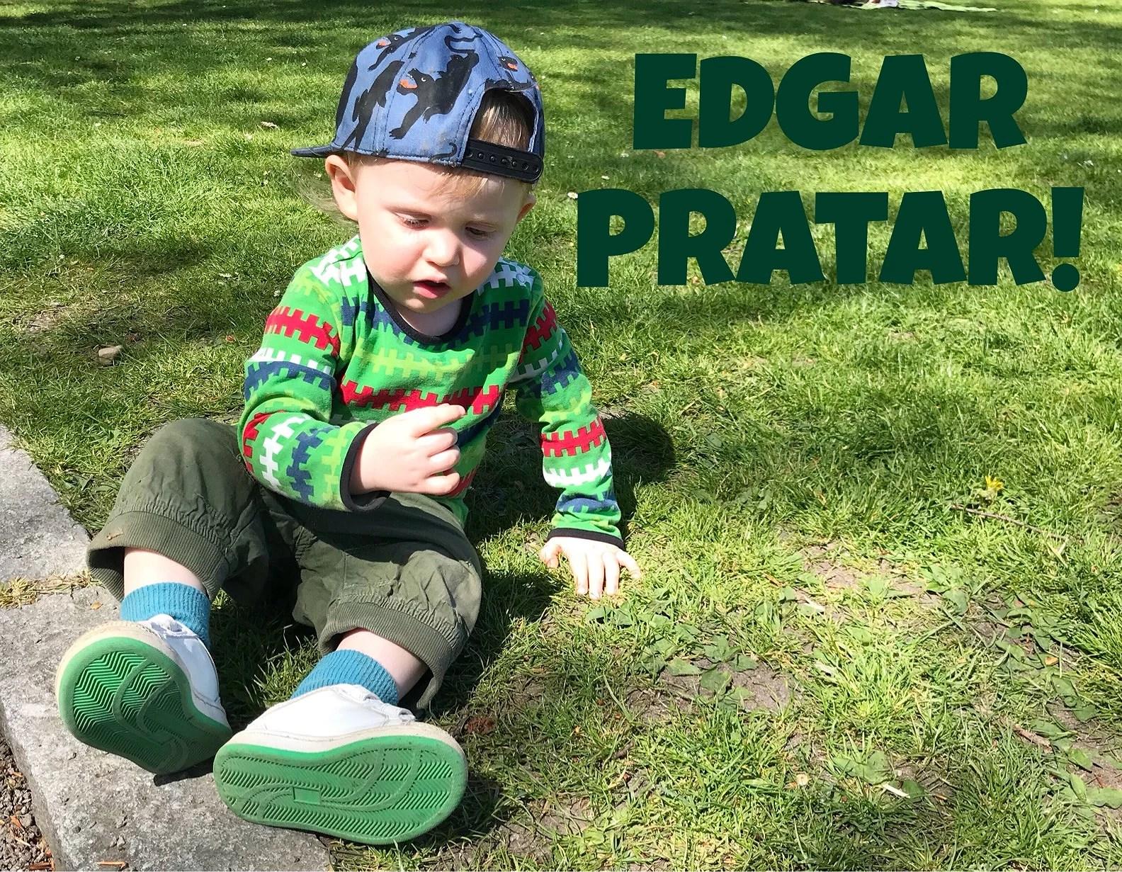 Edgar räknar till 10!
