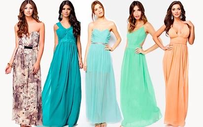 f5fcae55 blomstrete m. belte / teal m. paljetter / mintgrønn m. belte / grønn  backless dress / peach maxikjole