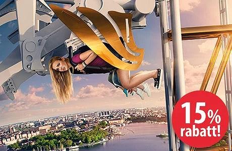 15 Rabatt På Inträde Och åkband På Gröna Lund Stonetag