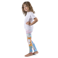 LOVE FOX - KID'S LEGGINGS