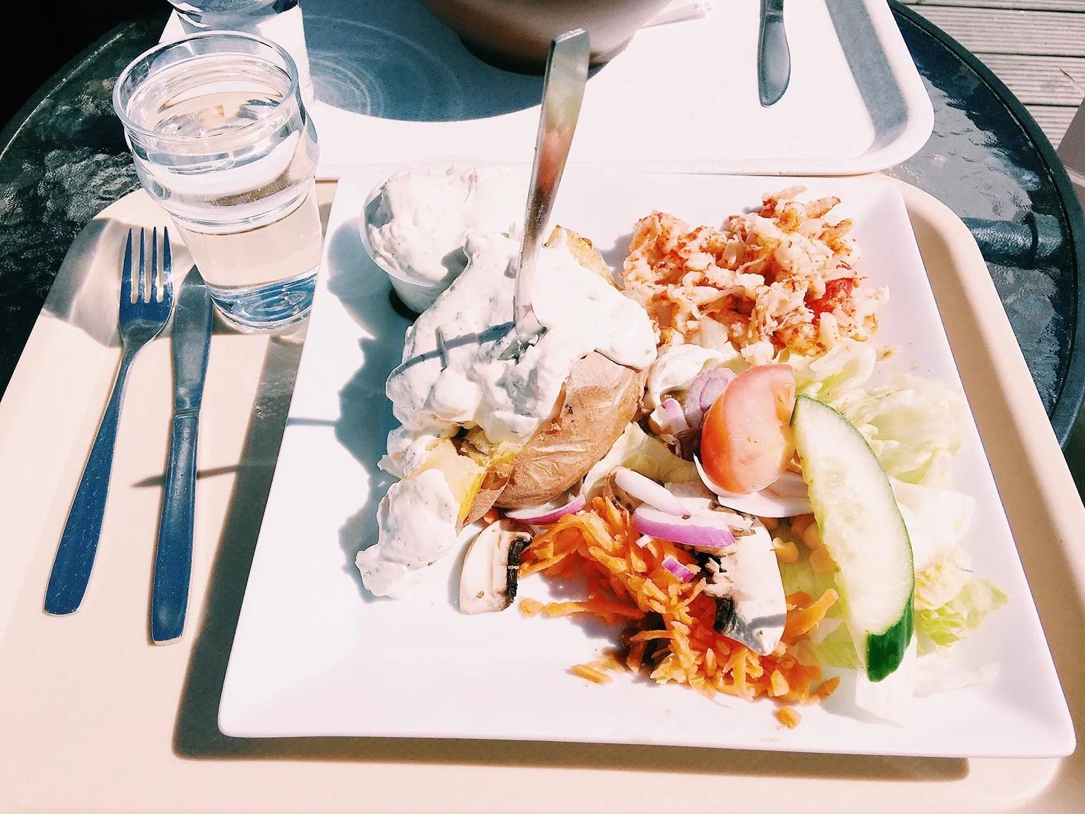 Lunch & kvällis