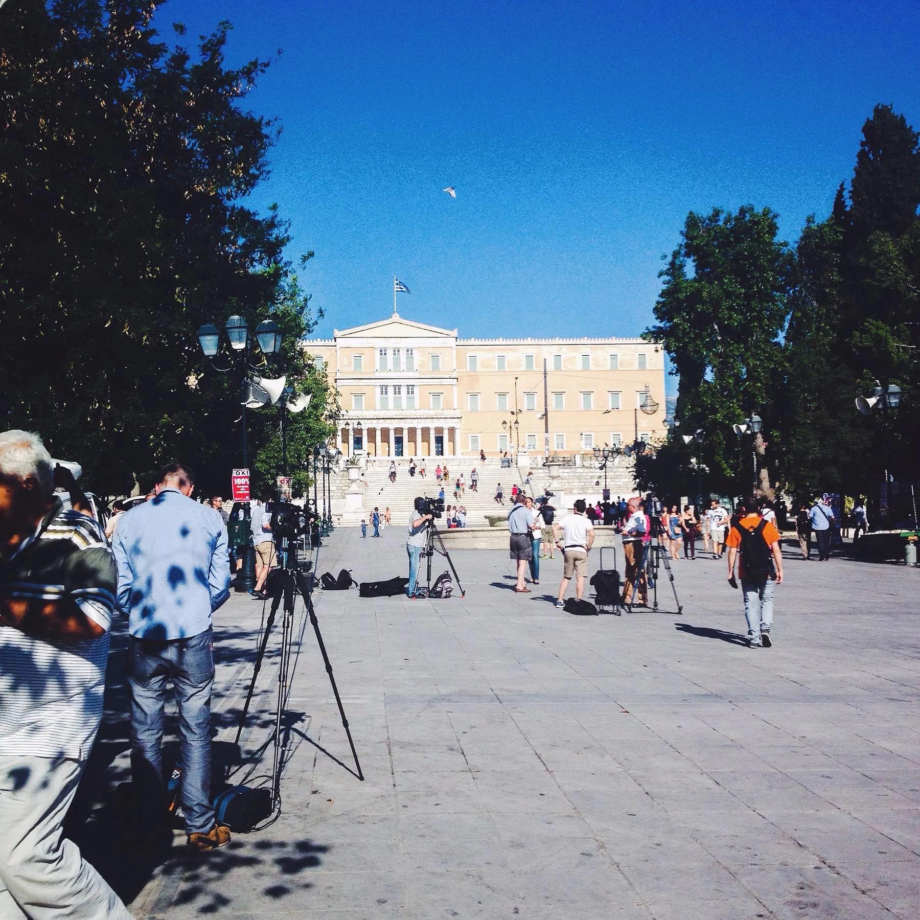 Greklands folk i rädsla