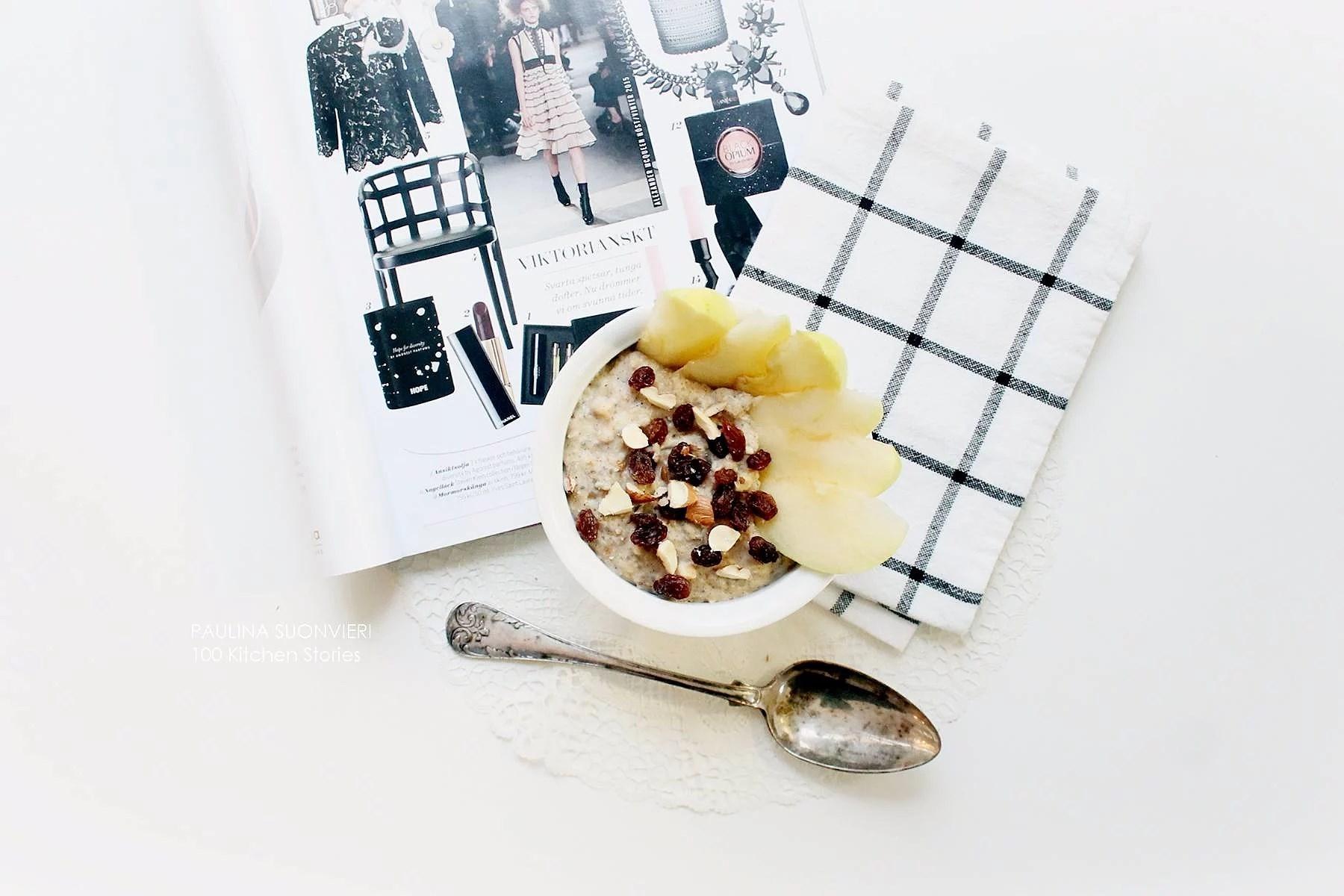 "Apple and Cinnamon Porridge // Review on ""proteingröt"""