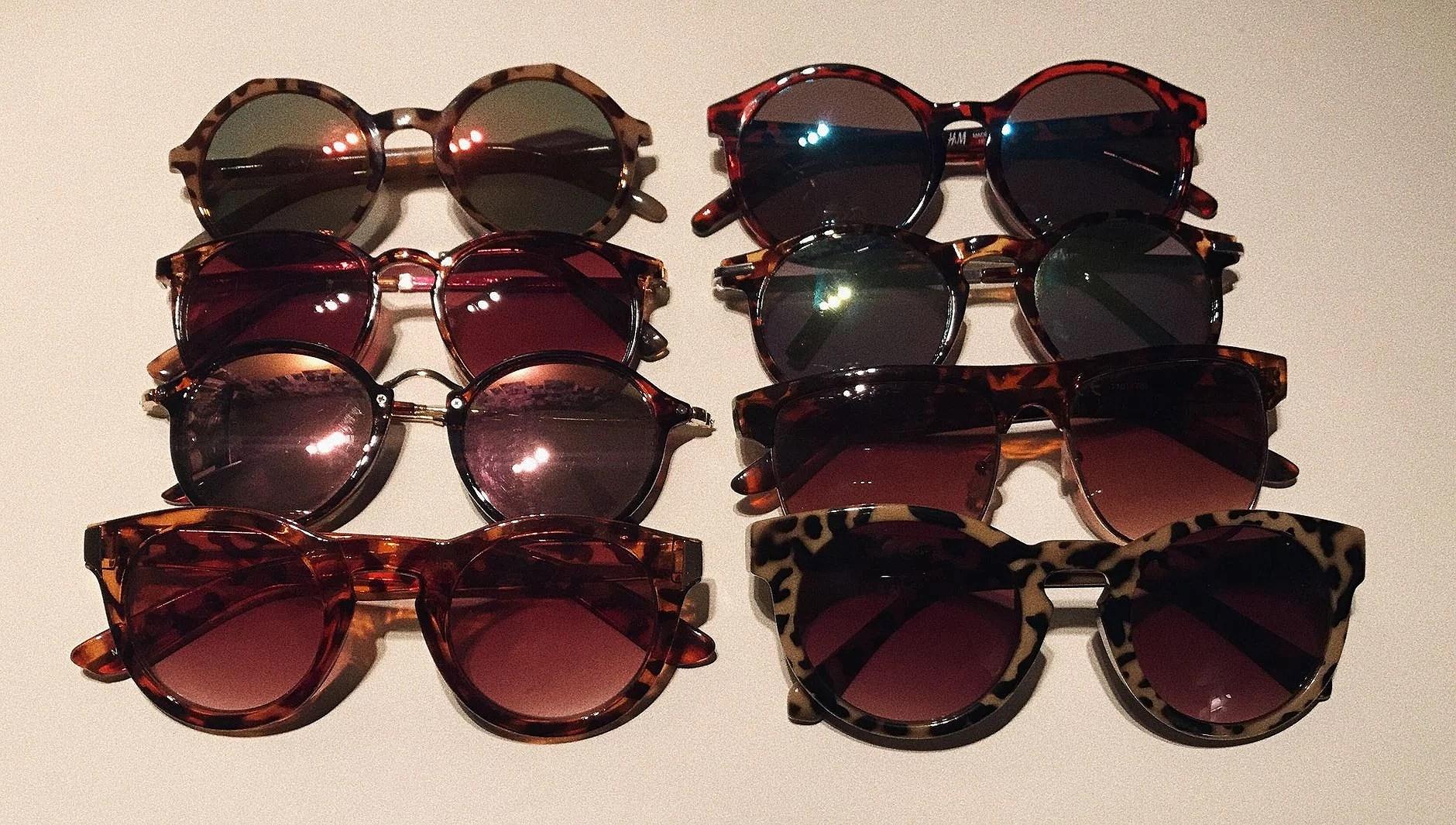Solglasögon kollektion