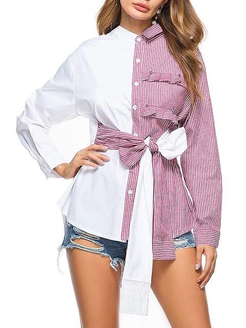 Camisas asimétricas: consigue un outfit diferente