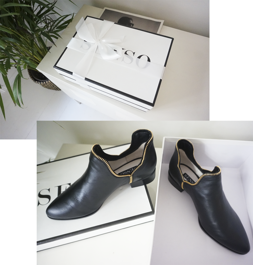 ZIP BOOTS FROM SENSO