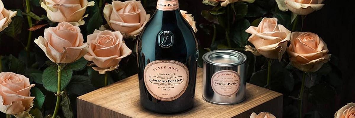 Måla med champagne