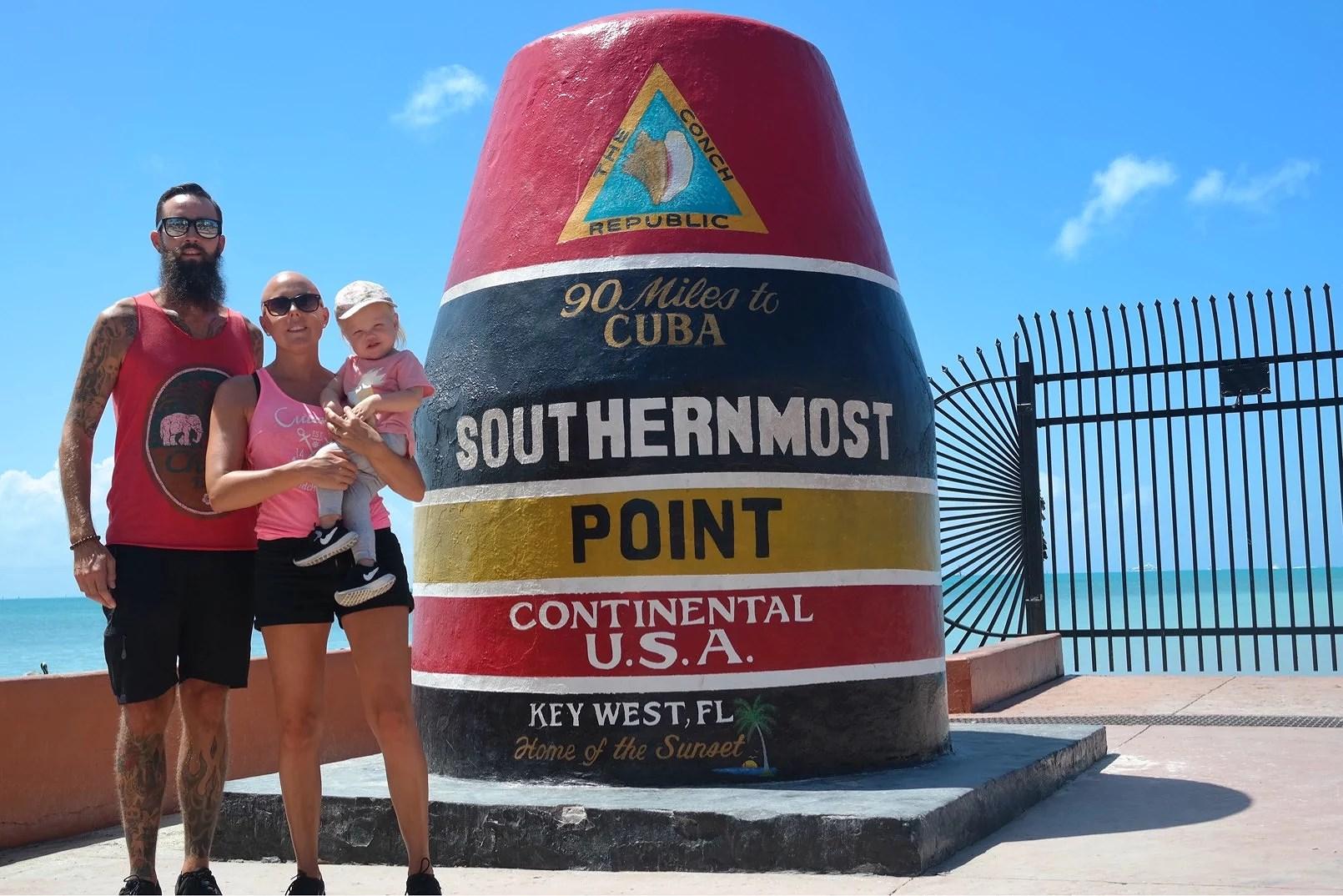 Key West och nu är det slut