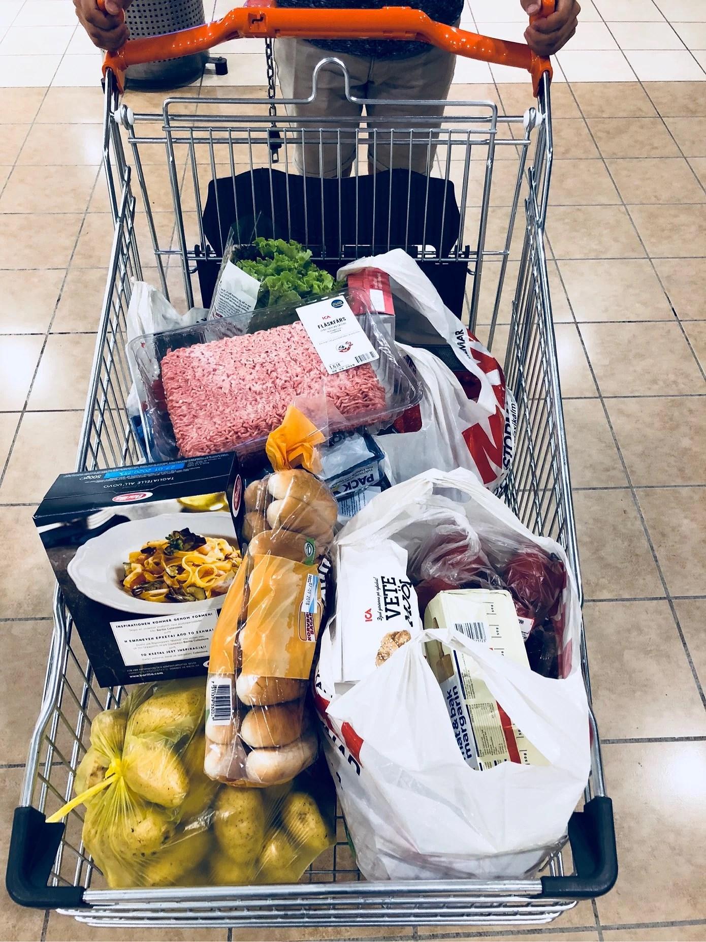 När man får välja maträtt...