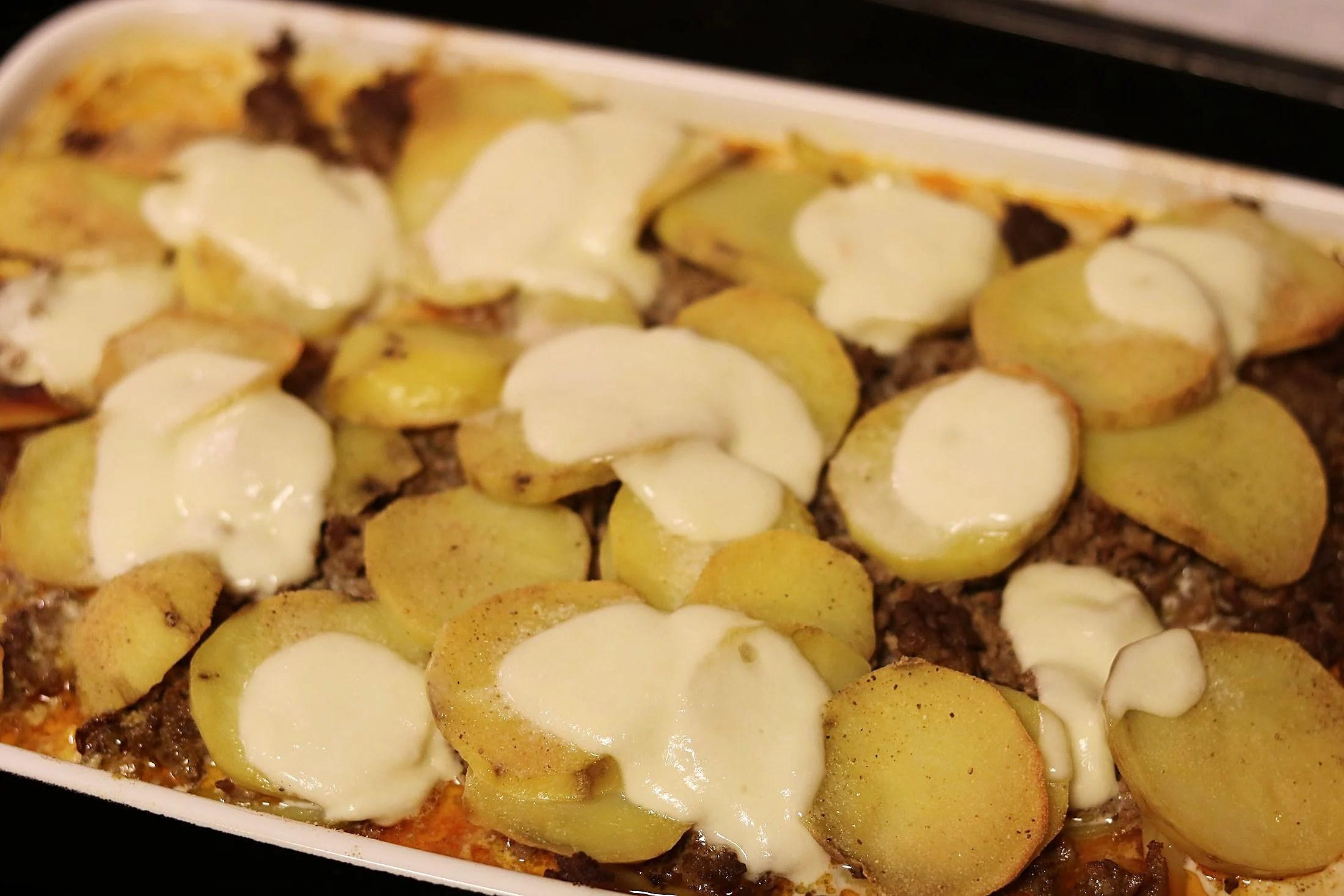 Moussaka med tacosmak