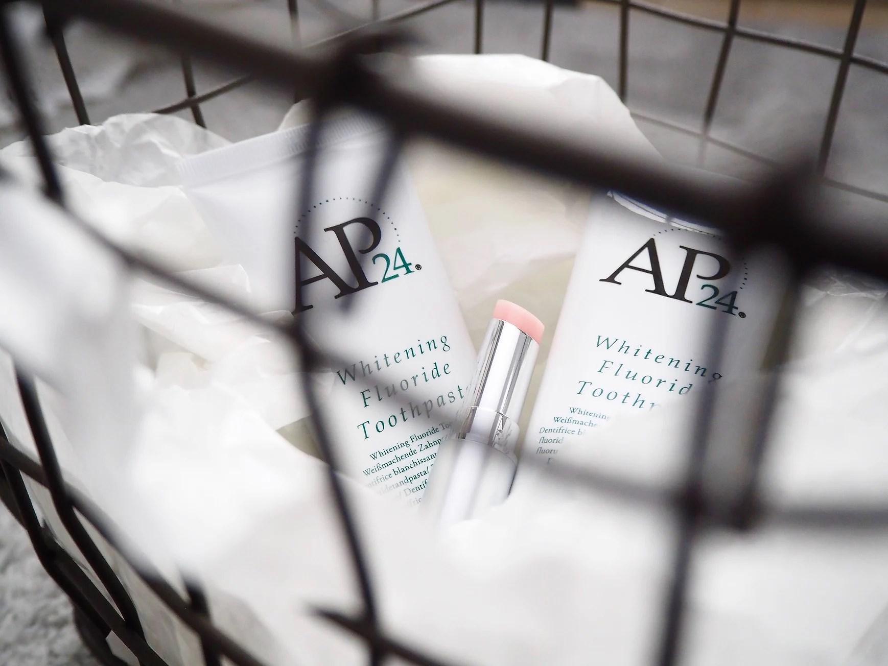 Tandkräm och lipbalm