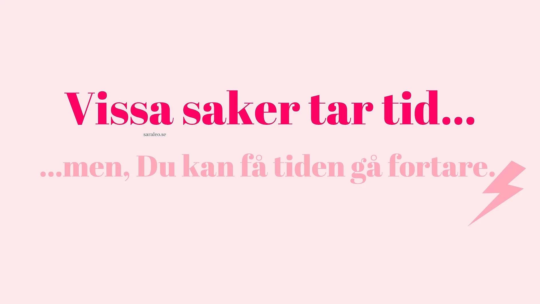 MÅLSÄTTNING - TIPS! ★