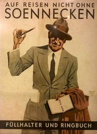 zwiedzanie bonn pomysły co robić przewodnik soennecken plakat retro