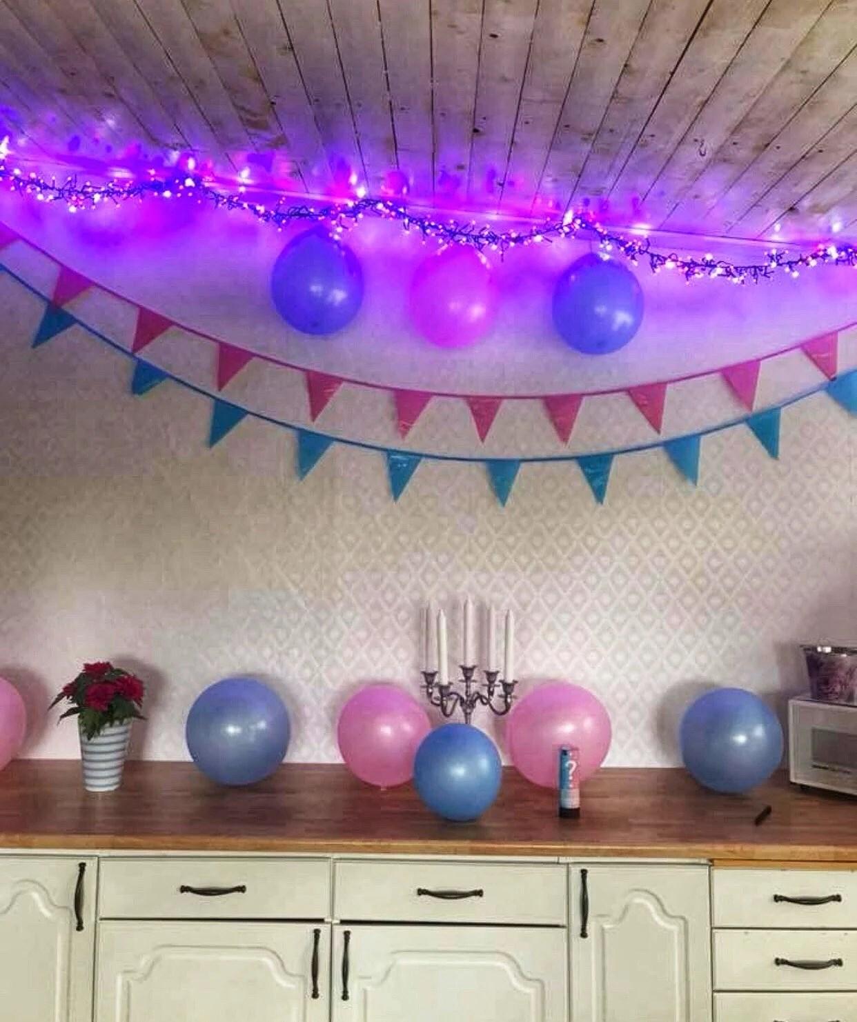 Rutinultraljud & gender reveal fest