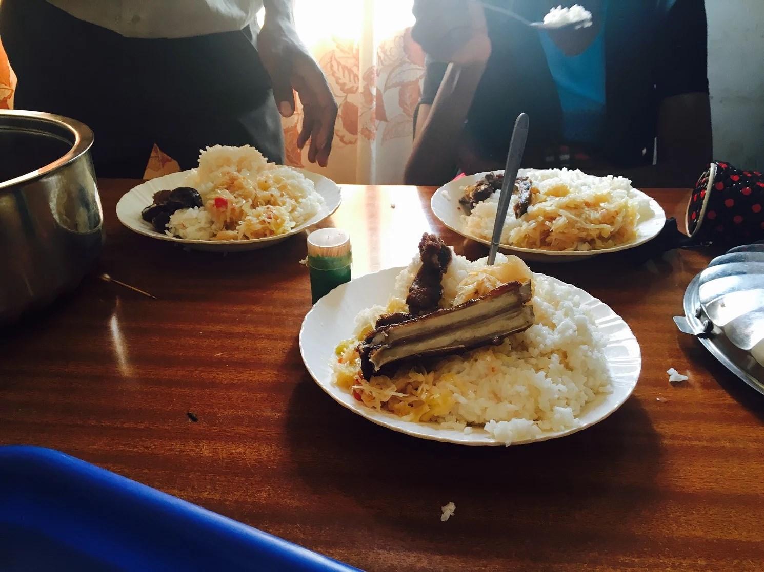 Den afrikanska maten...