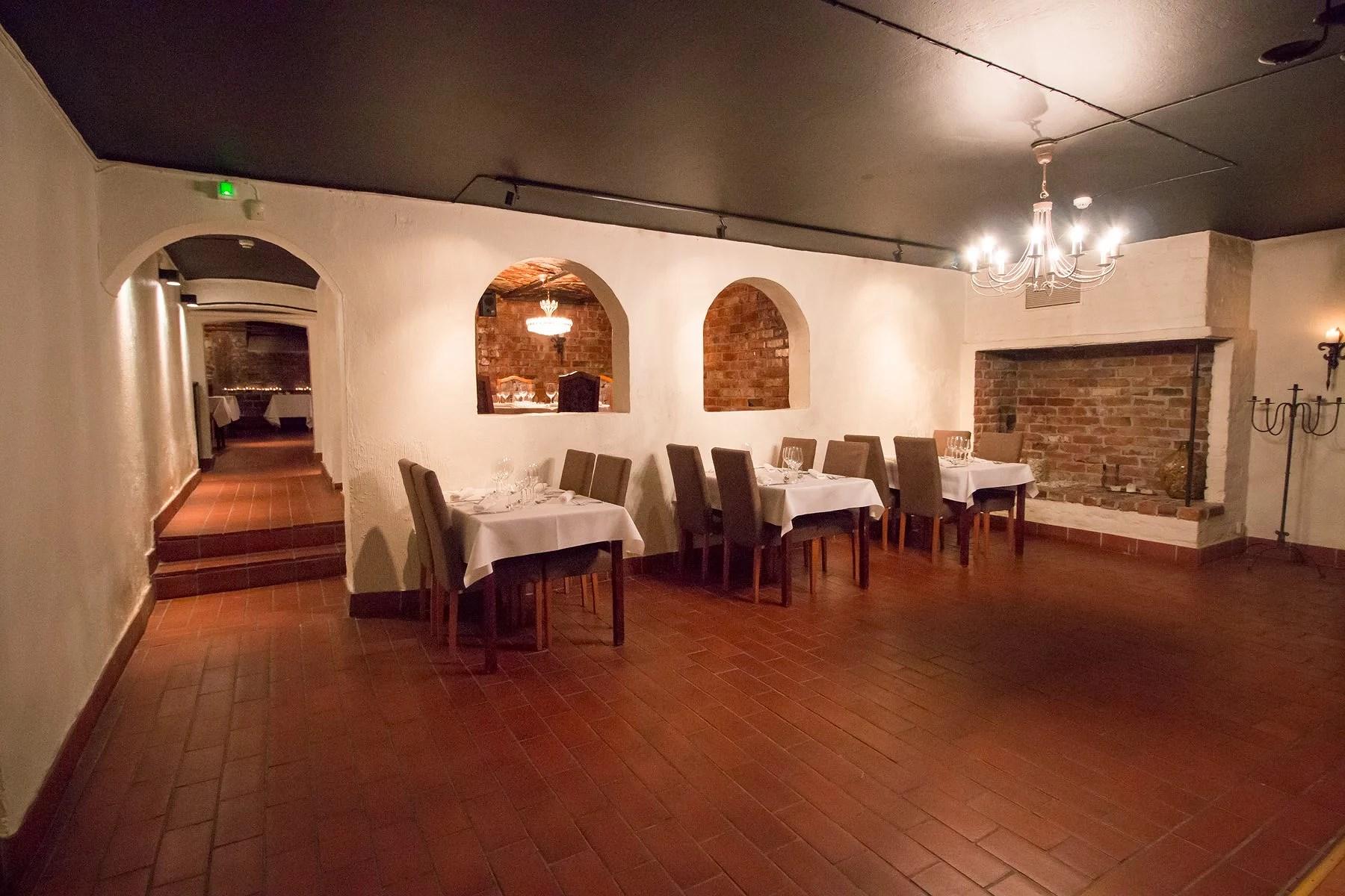 Restaurangbesök vid Bacchus