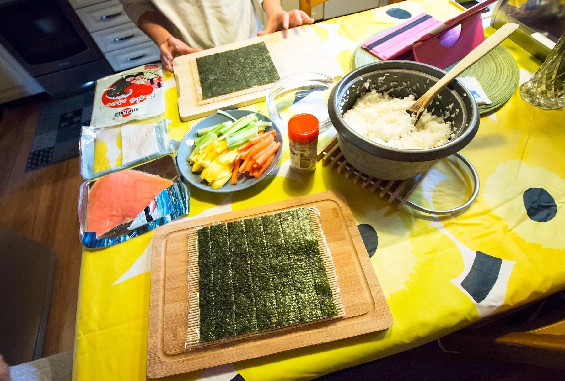 Sushi date!