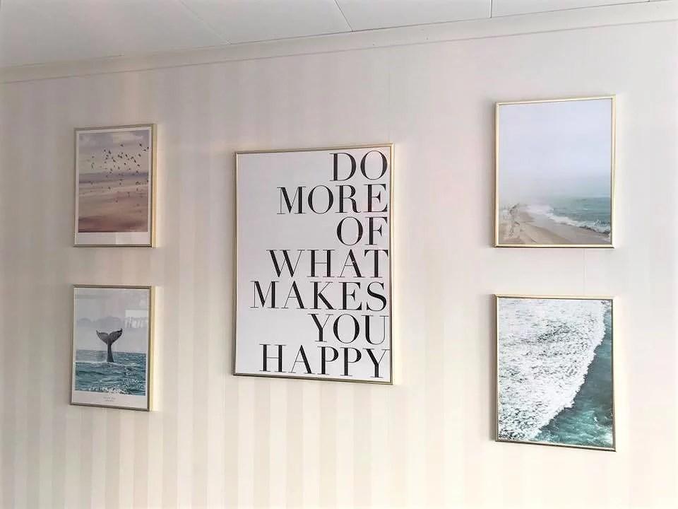 Nya tavelväggen ger ett gott råd