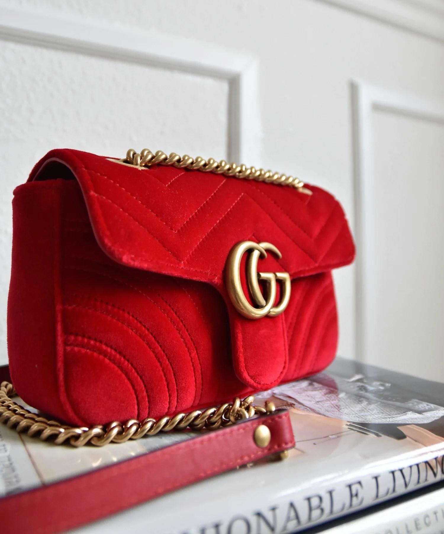 gucci-velvet-red-bag-gold