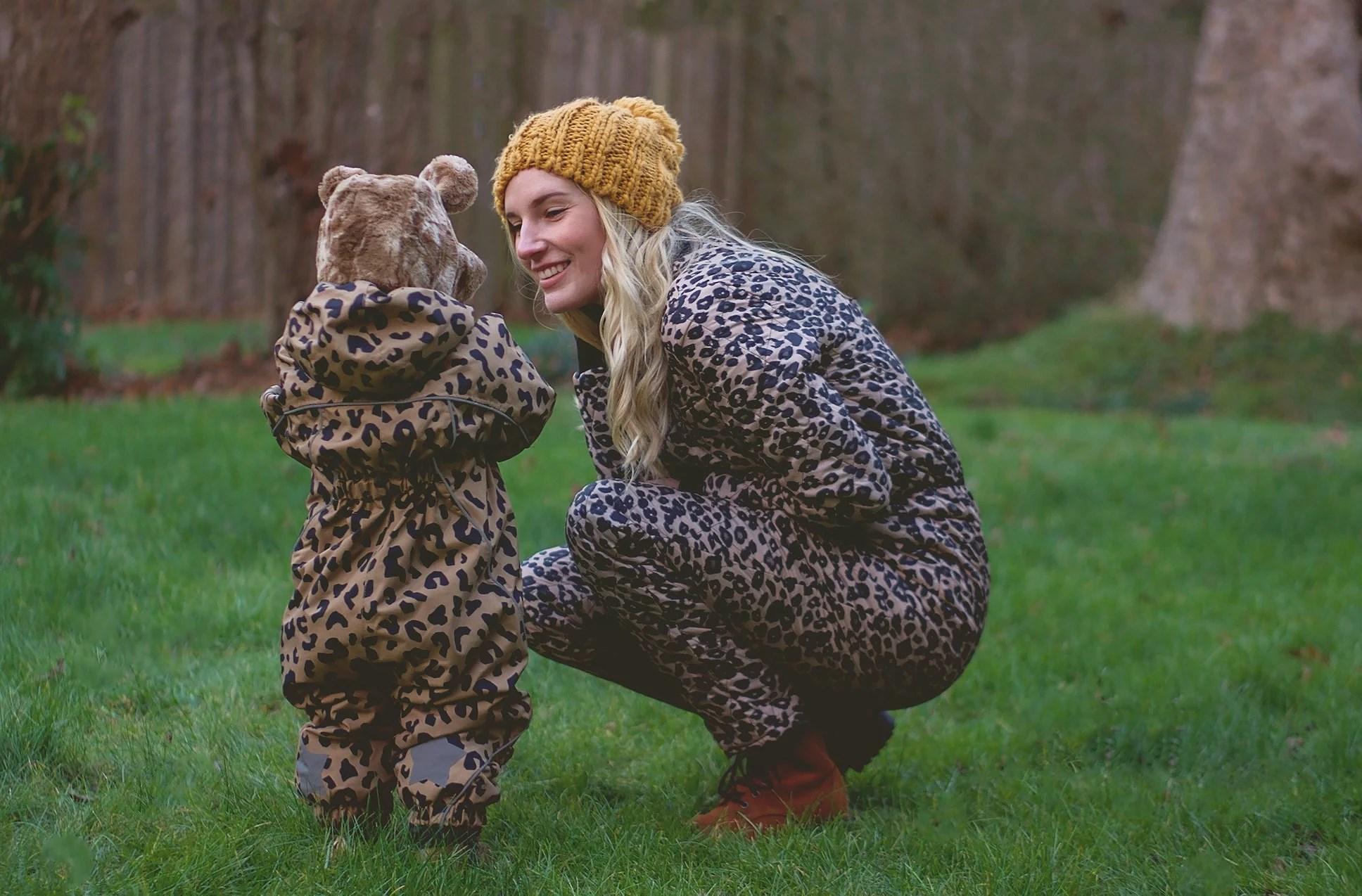 Matching Snowsuits