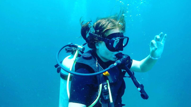 Scuba diving around Koh lipe