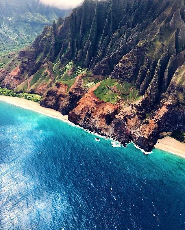 Helikoptertur på Hawaii