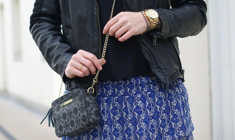 Modeblogger, Dansk modeblog, Aalborg blog, Aalborg blogger, Julie Mænnchen, It's My Passions, Lollys Laundry, Magda nederdel, Lollys laundry blå nederdel, Munderingskompagniet, Day, Day et taske
