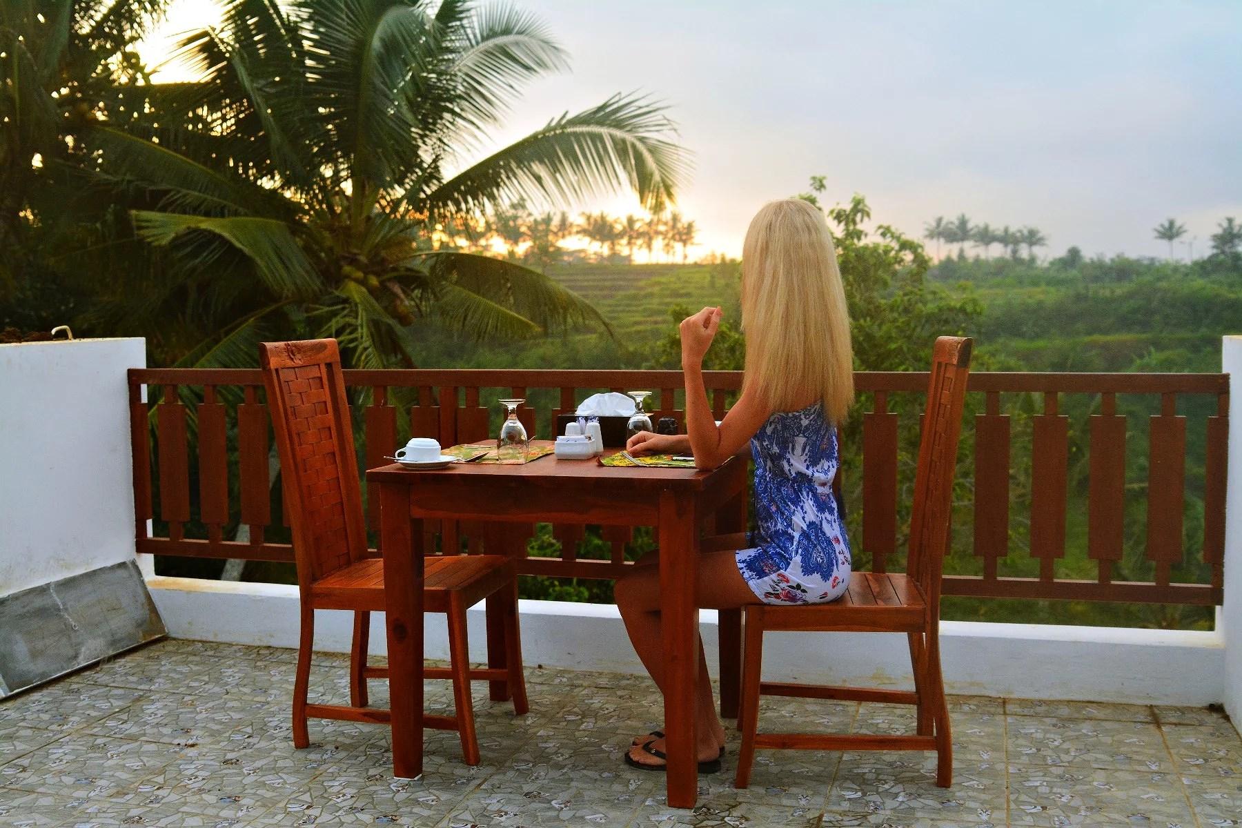 Sunrise in paradise Ubud