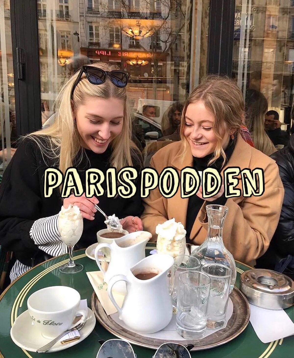 Nytt poddavsnitt! Våra firsts i Paris