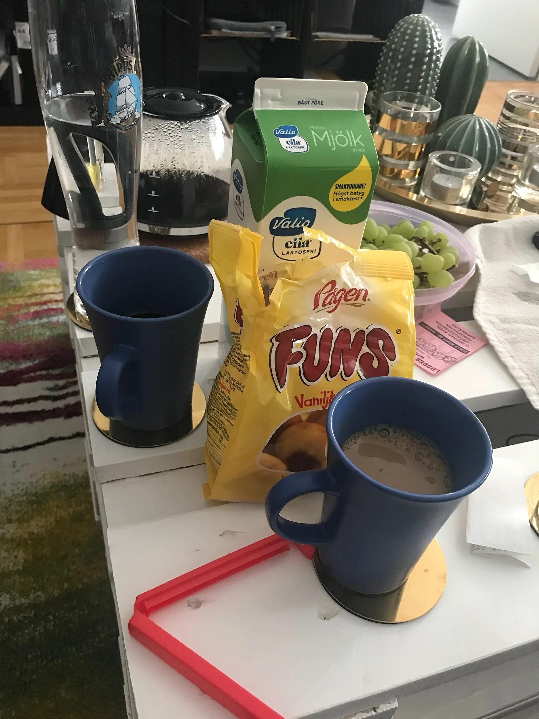 ÄNTLIGEN KAFFE!!!