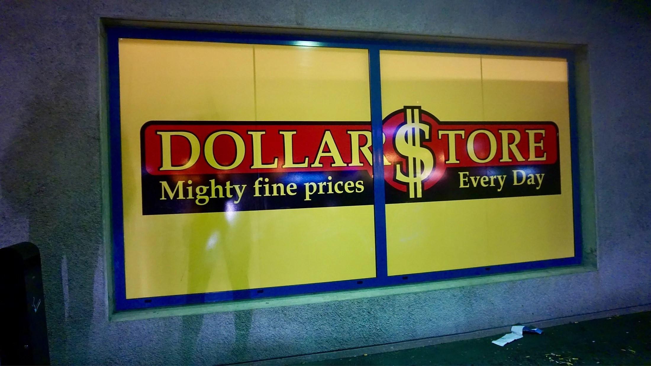 Dollarstore första gången