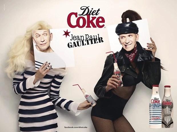 Coca Cola y Jean Paul Gaultier
