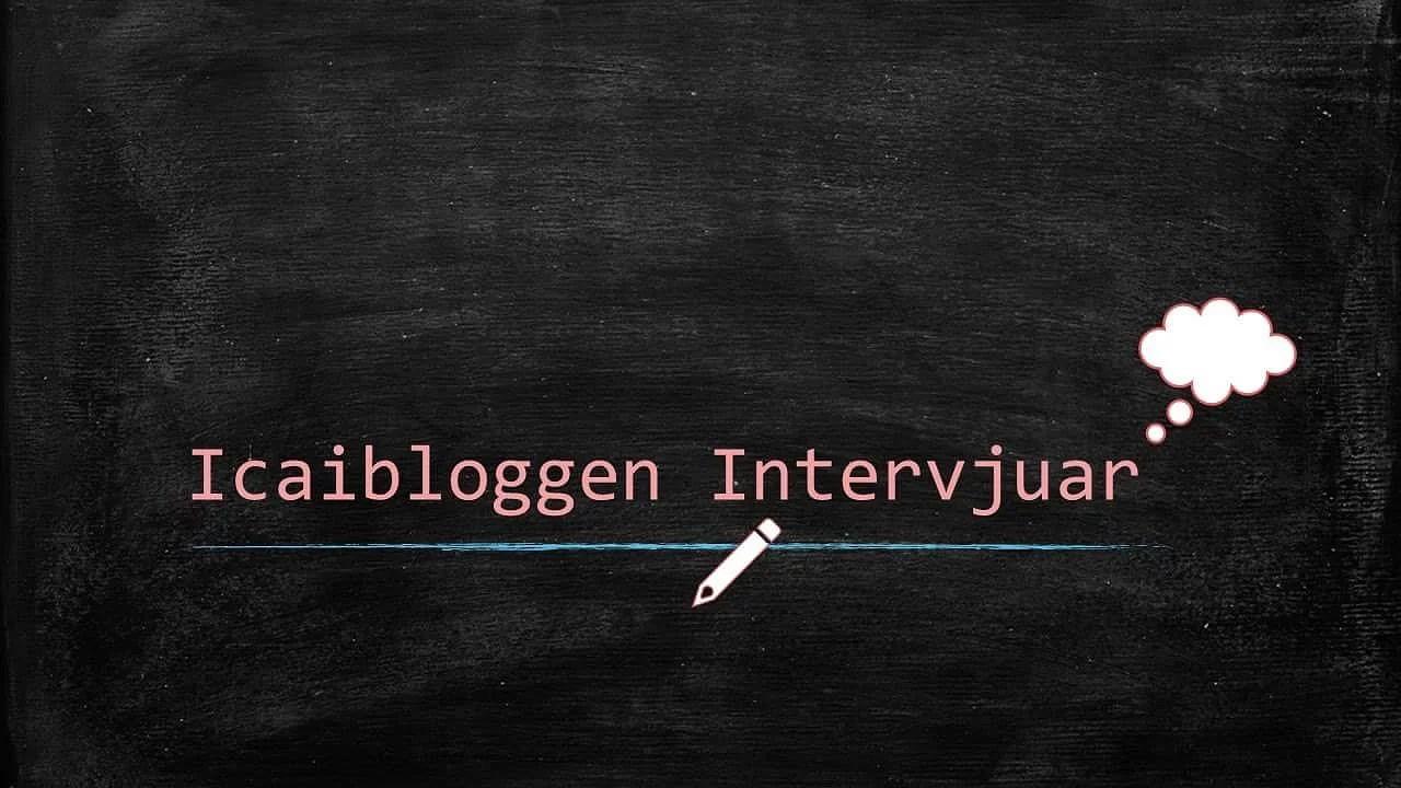 Icaibloggen intervjuar - Diagnoser - Maria #44