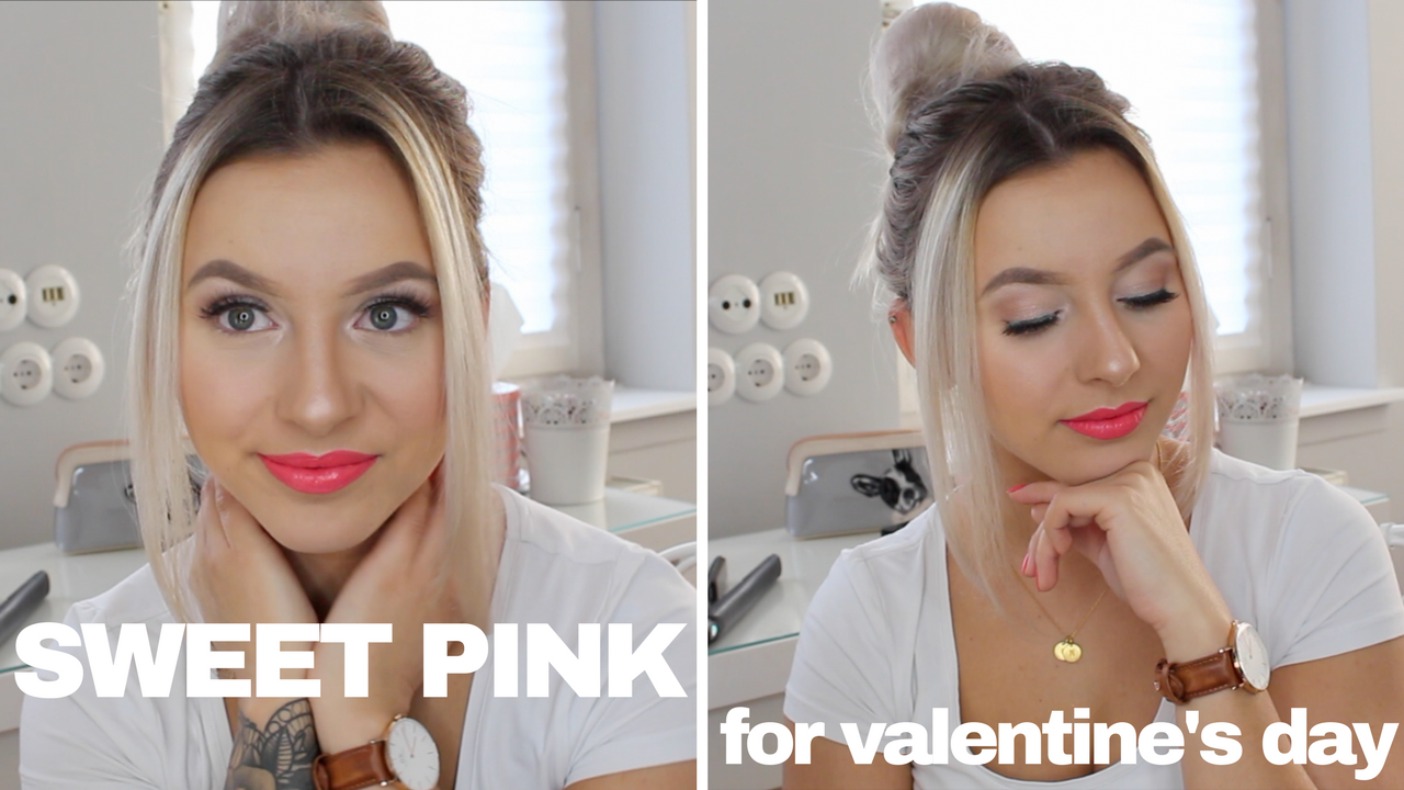 SWEET PINK MAKE-UP LOOK FOR VALENTINE'S DAY