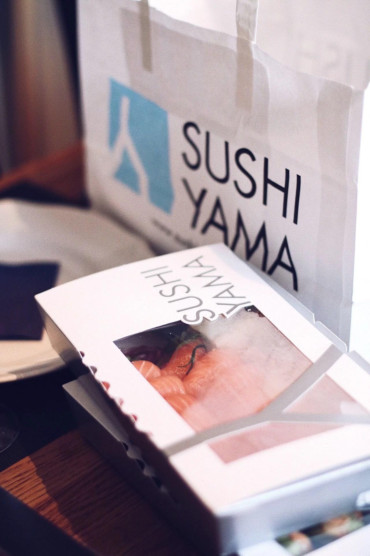 Sushi Yama party platter