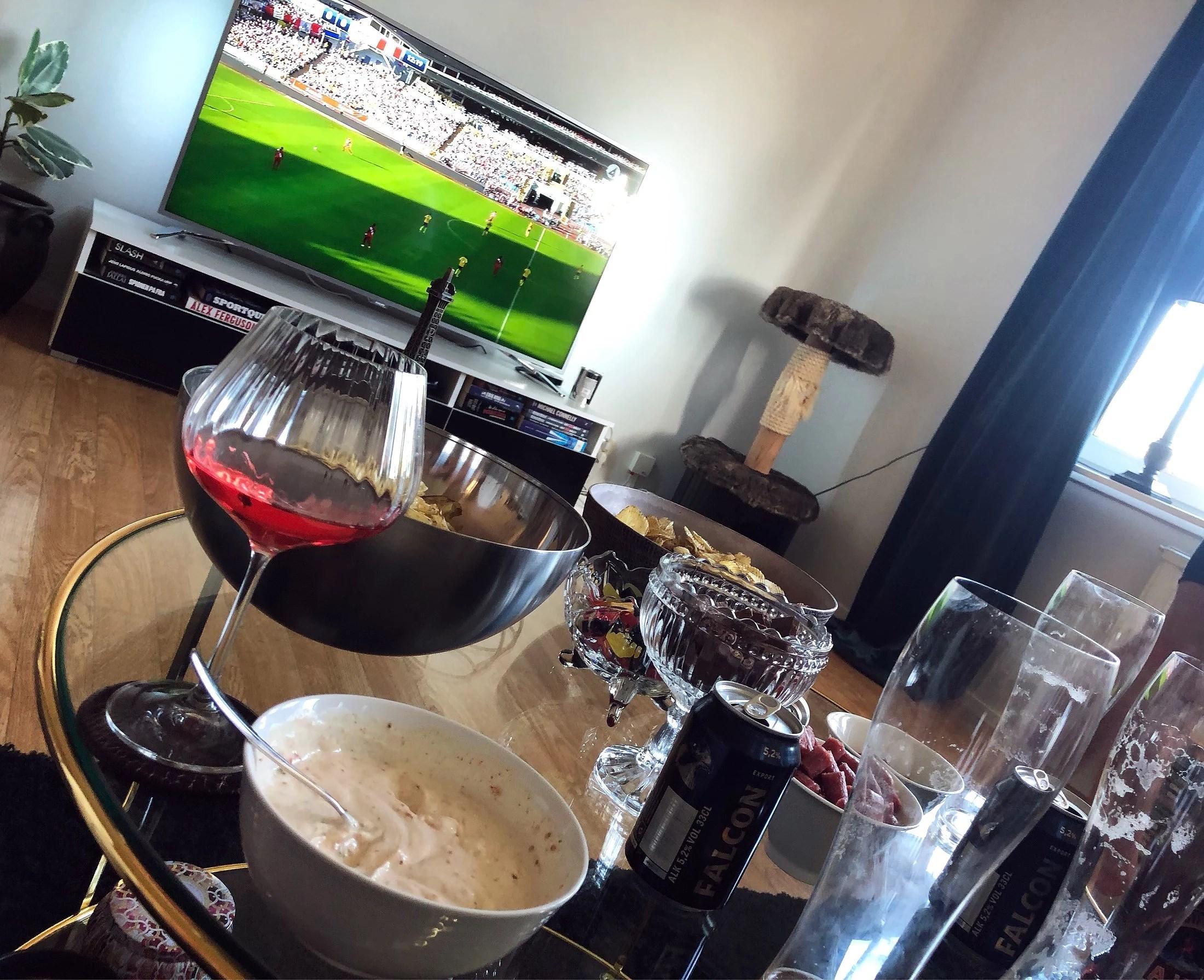 Fotbollskväll med grabbarna