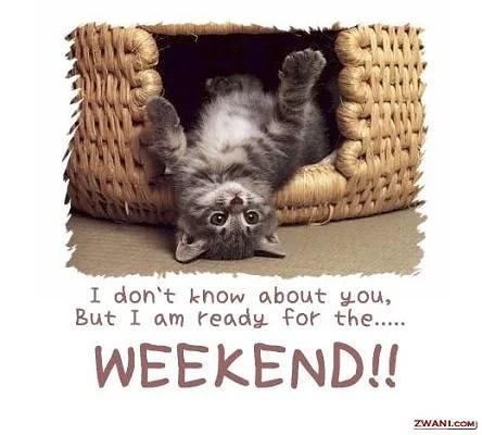 nu är det helg