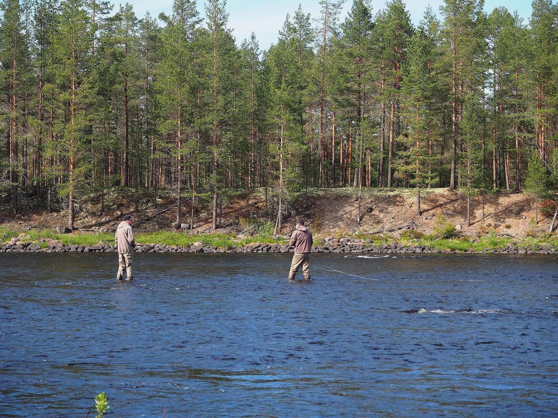 Idre - fiske