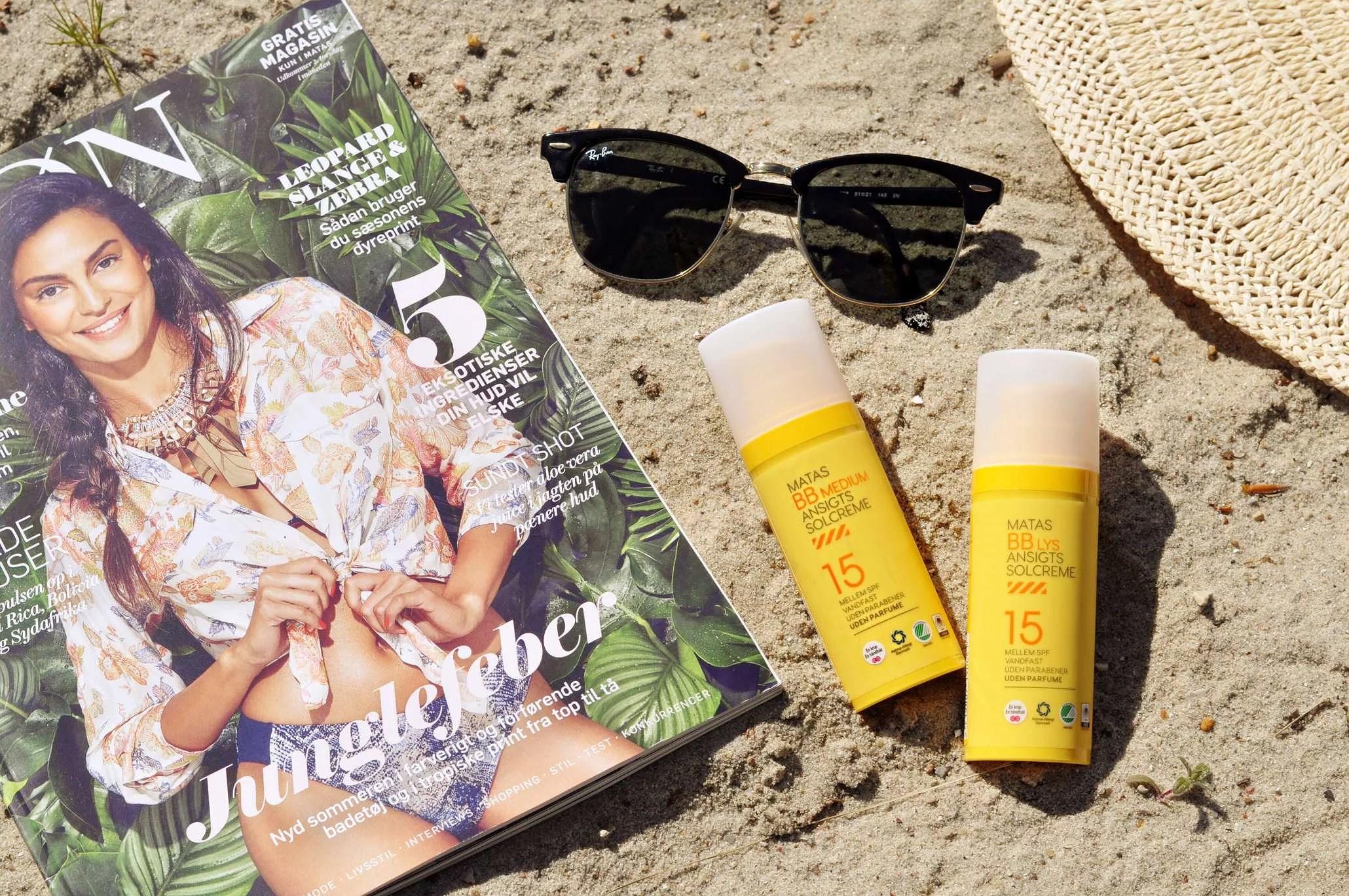 BB ansigtssolcreme: ensartet hud, beskyttet mod solens stråler!