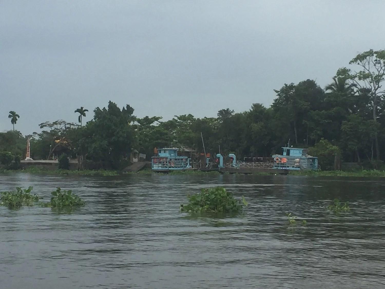 Noget af det man kan se på floden.