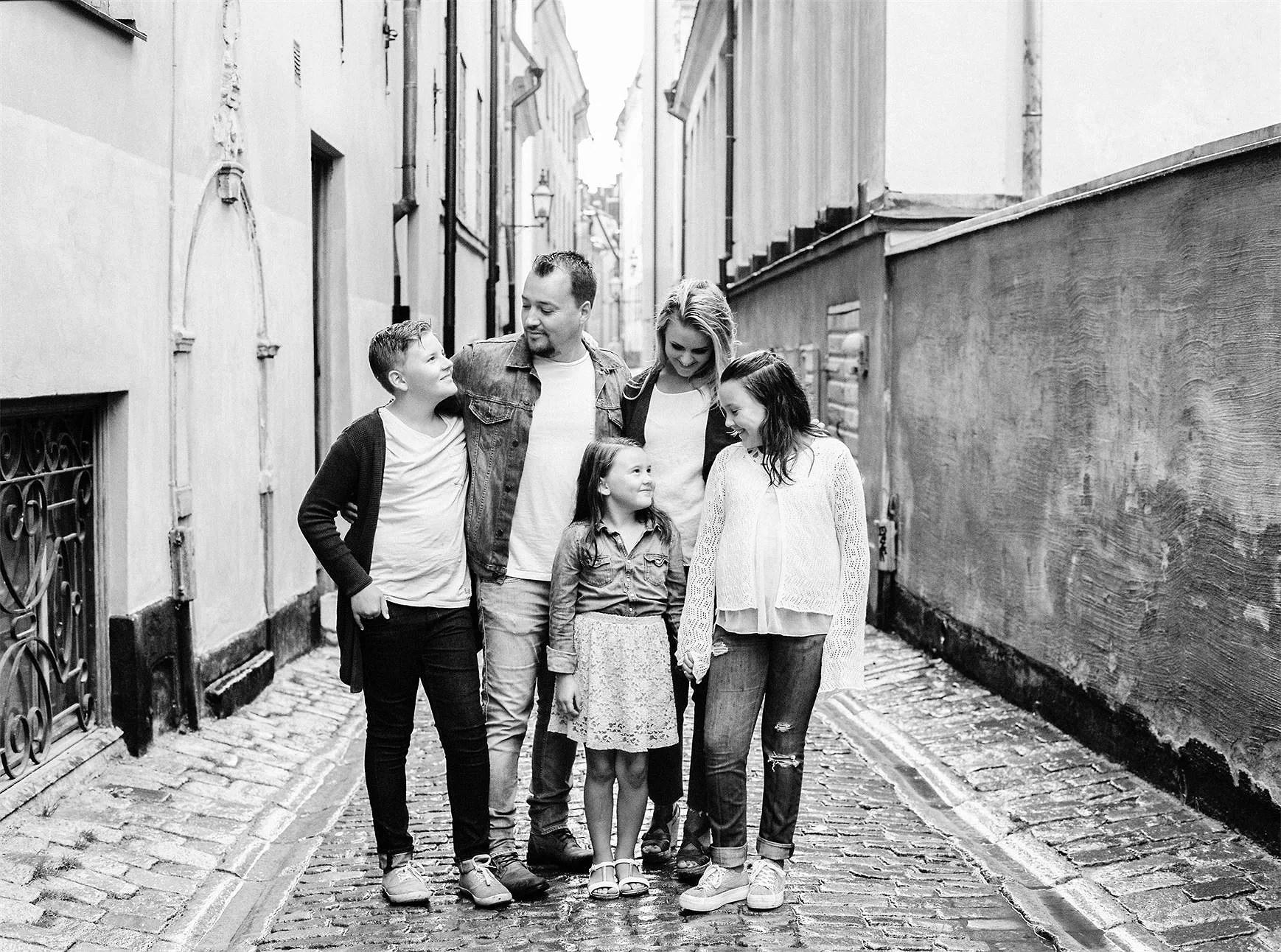 En splittrad familj