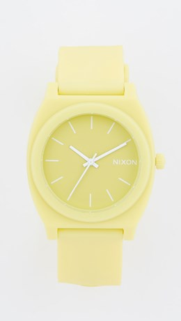 time teller nixon yellow