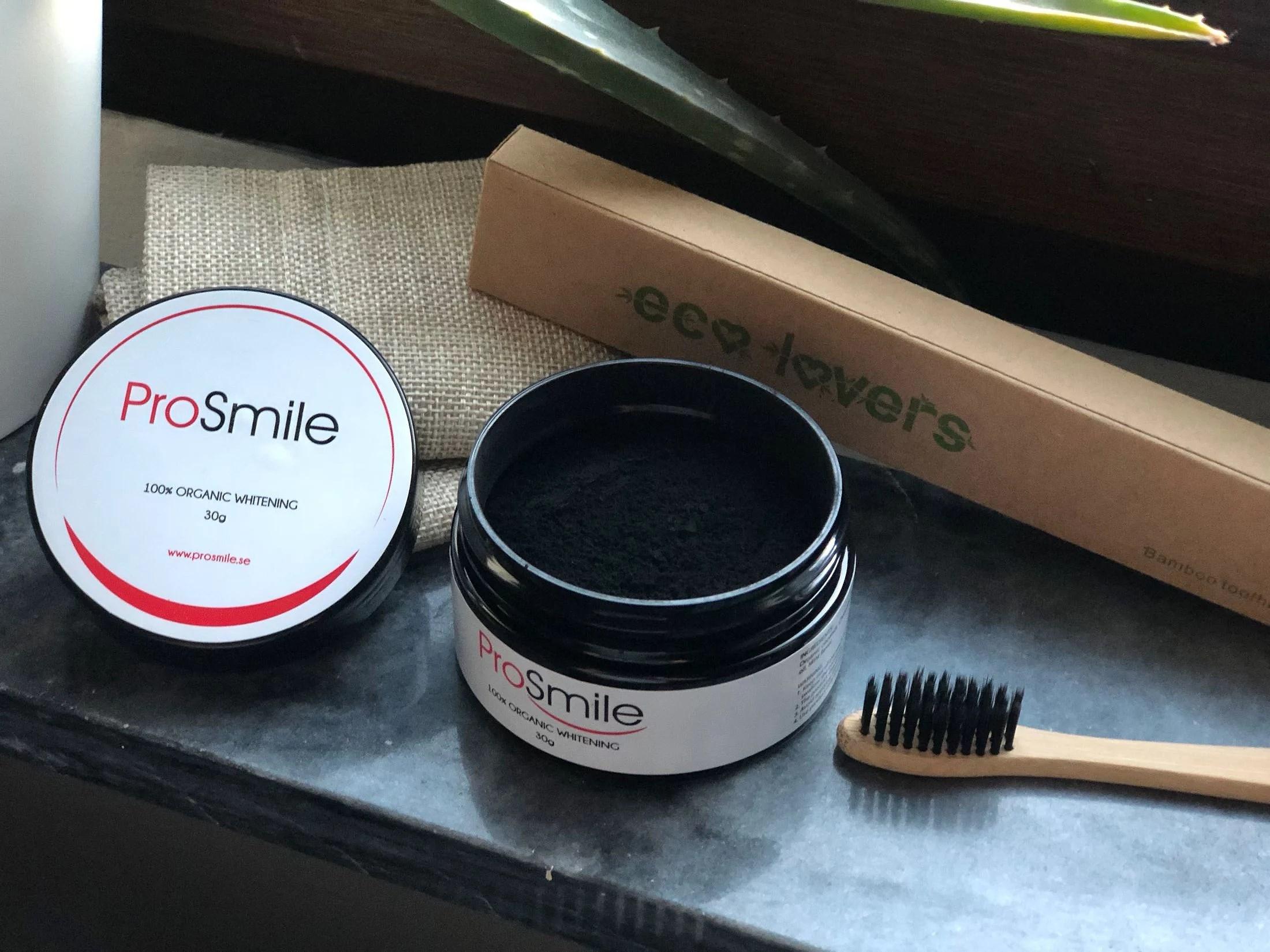 100% Ekologisk & Vegansk Tandblekning