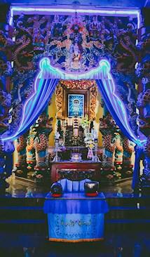 Cao Dai Temple, Phu Quoc, Vietnam