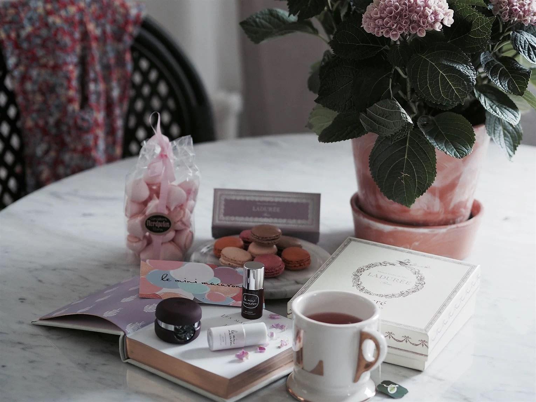 Le mini macaron gel nail home