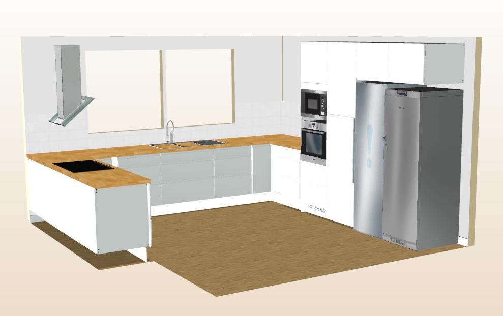 Köket i det nya huset
