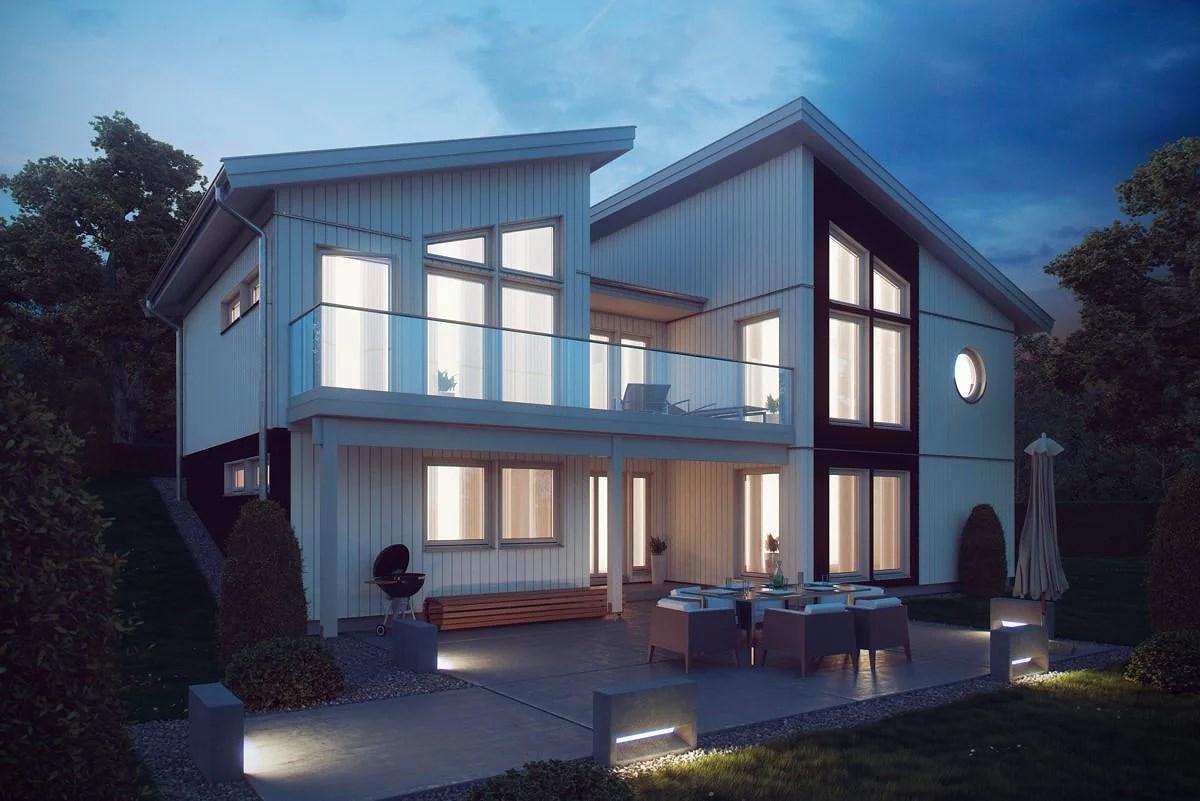 Nybyggt hus i framtiden? -