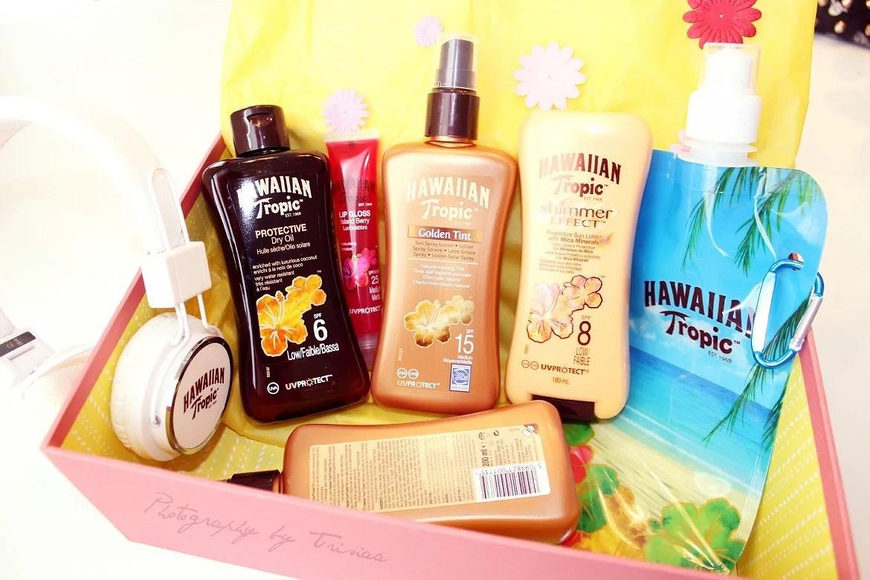 Hawaiian Tropic goodiebag!